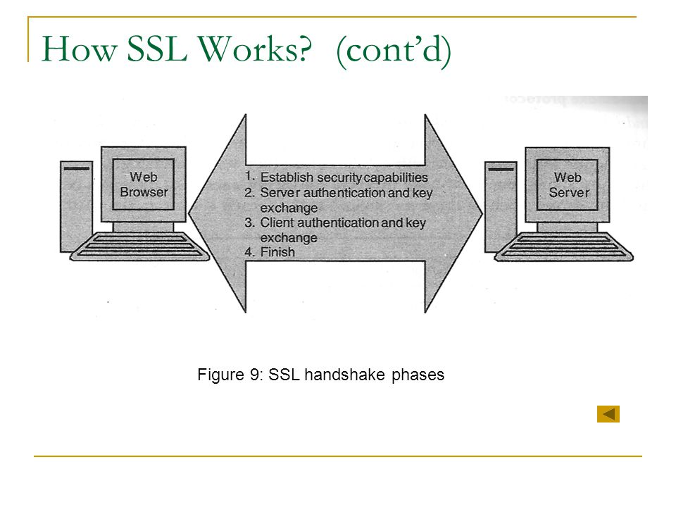 Figure 9: SSL handshake phases