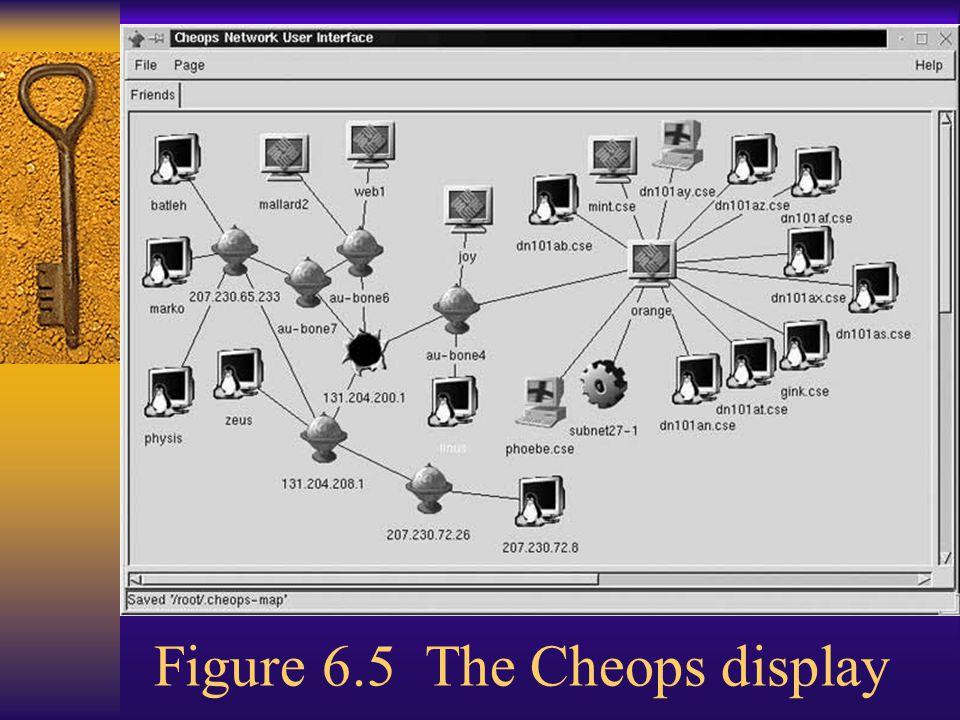 Figure 6.5 The Cheops display