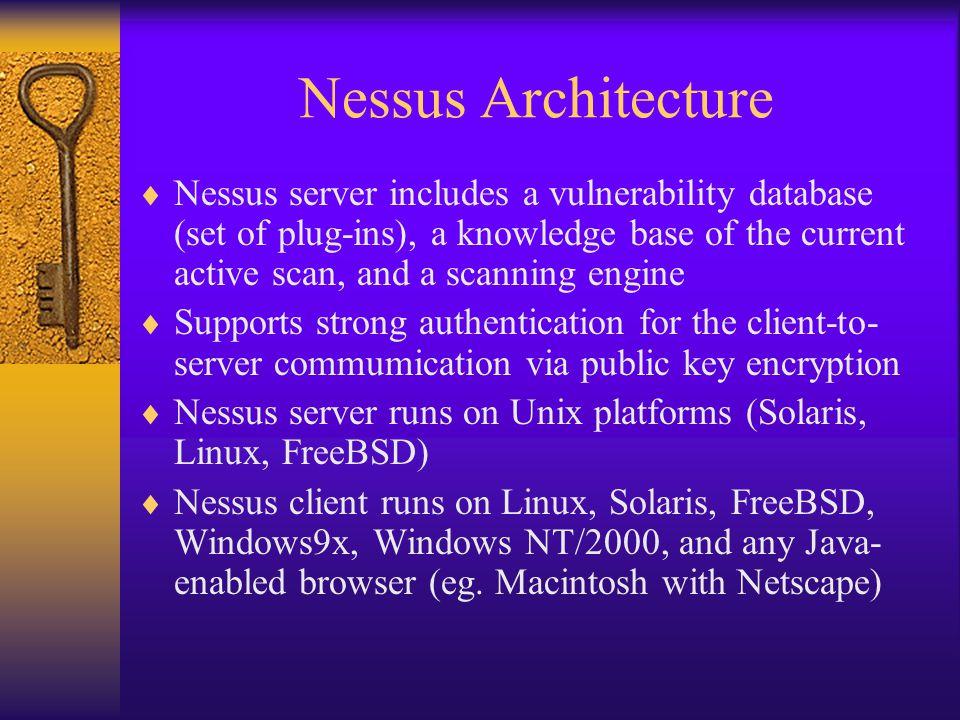 Nessus Architecture