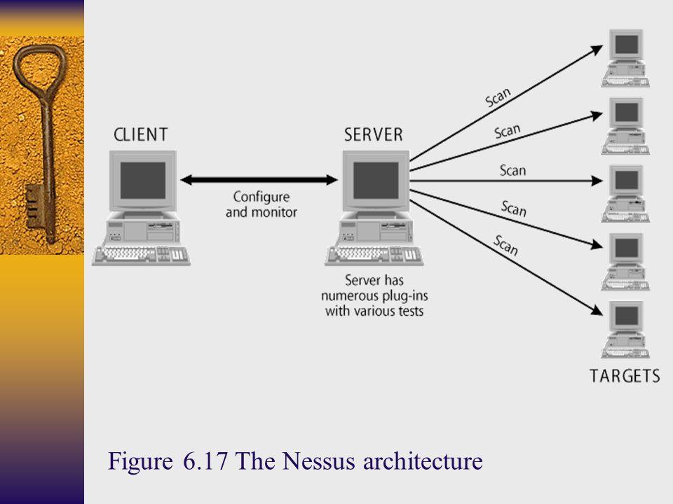Figure 6.17 The Nessus architecture