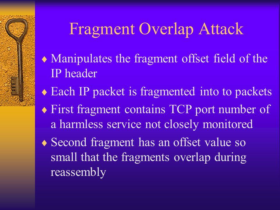 Fragment Overlap Attack