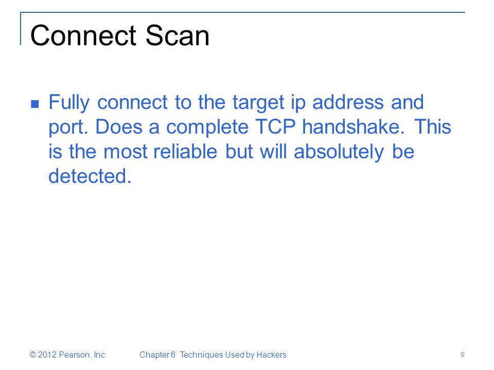 Connect Scan