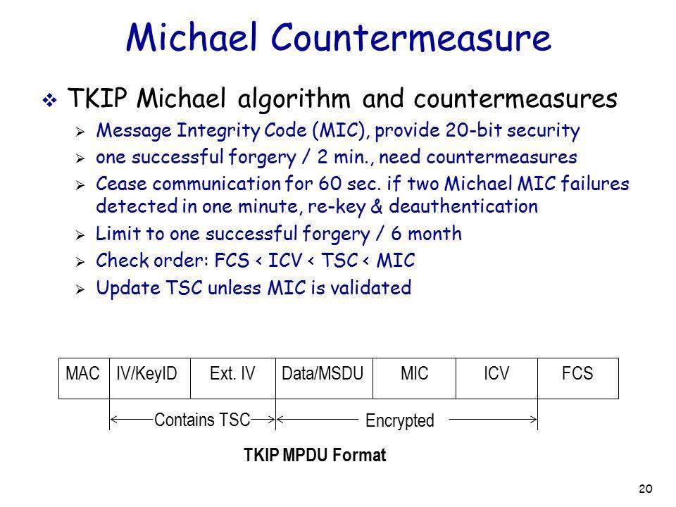 Michael Countermeasure
