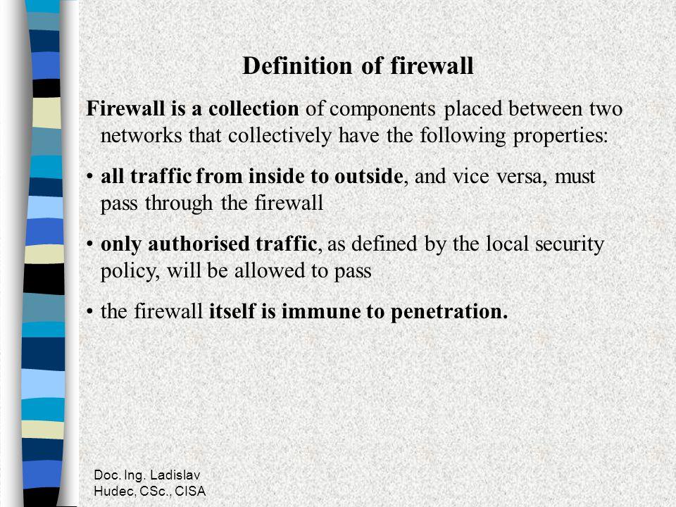 Definition of firewall
