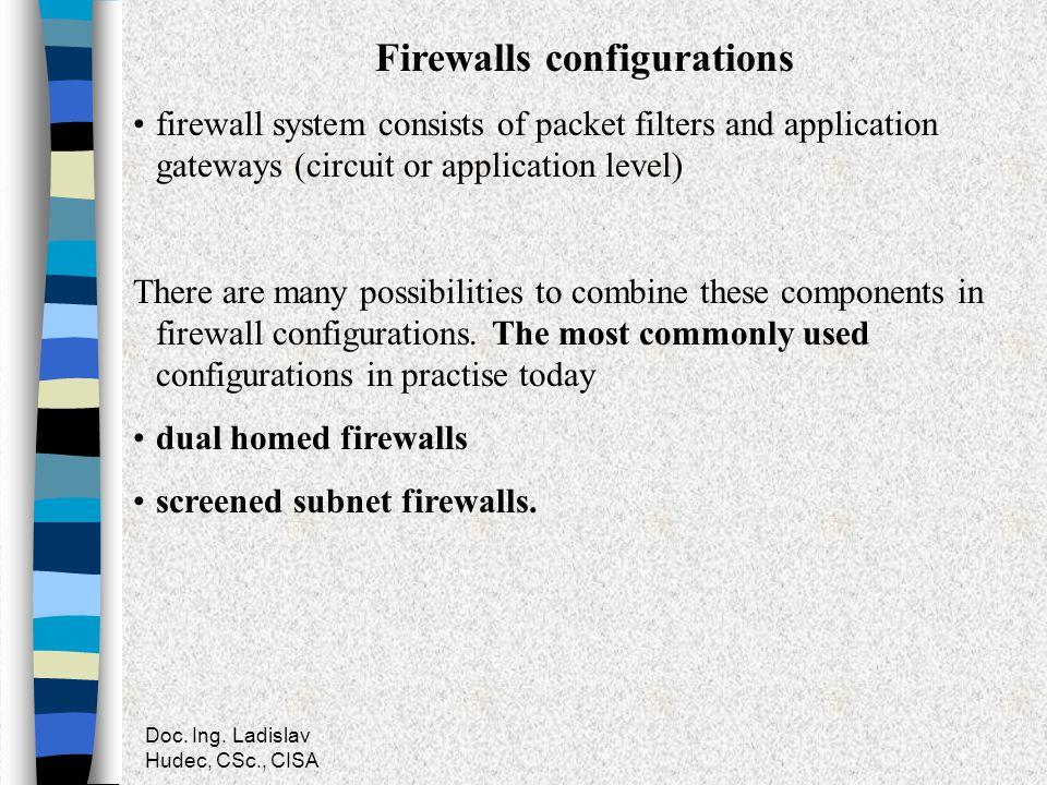 Firewalls configurations