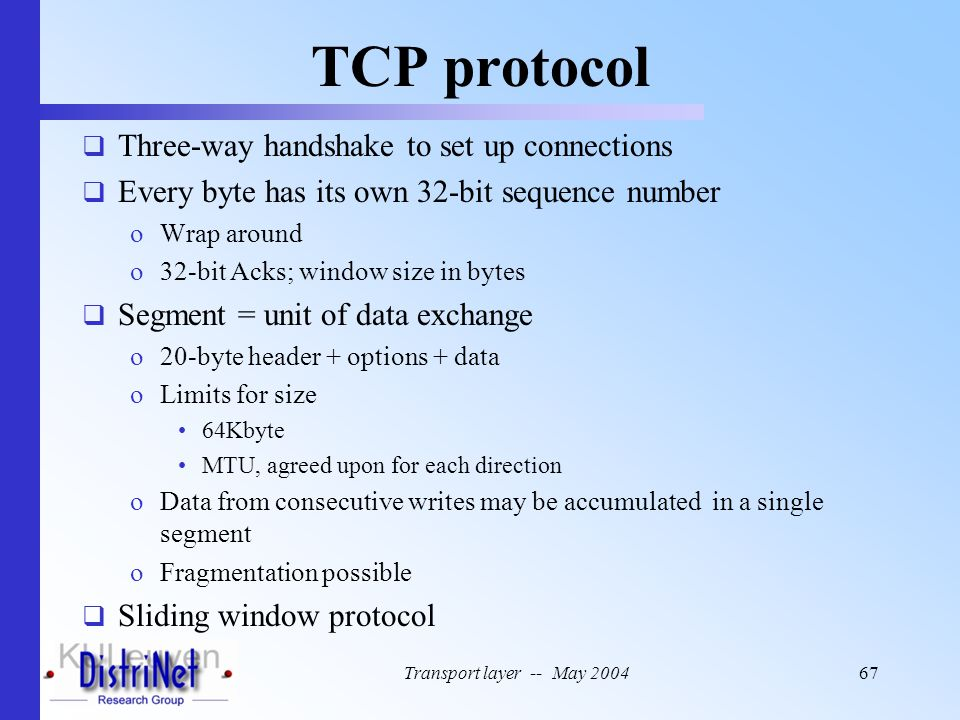 TCP protocol Three-way handshake to set up connections
