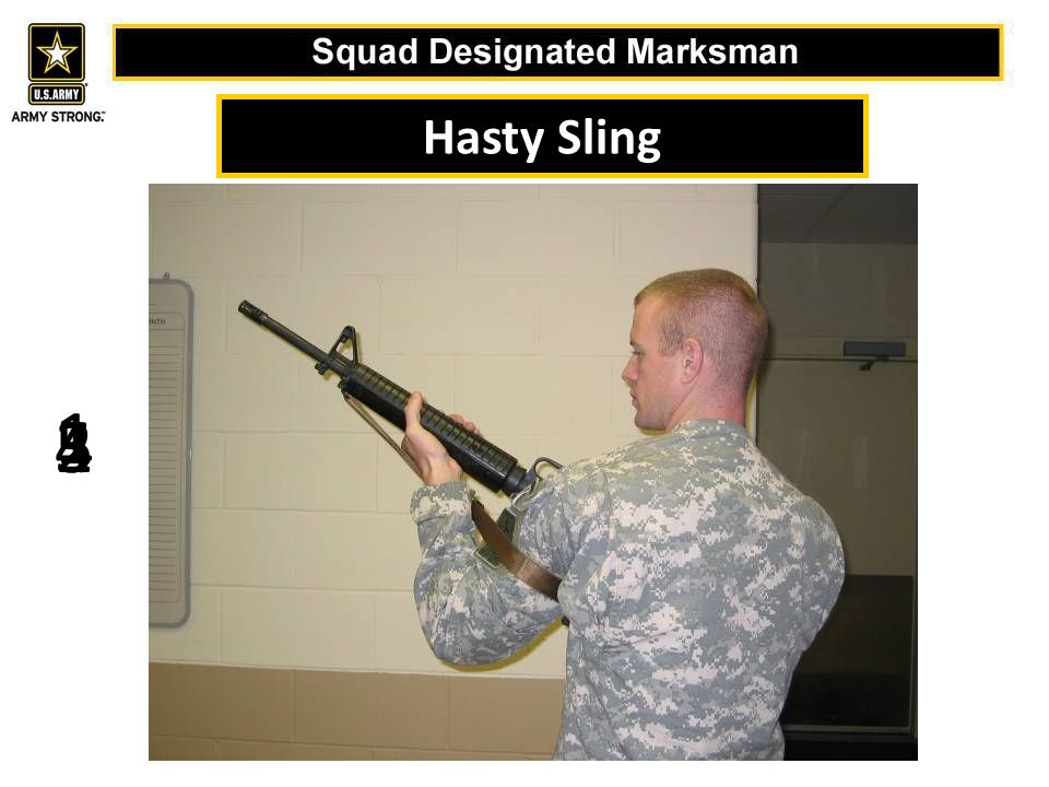 Hasty Sling 1 5 4 2 3
