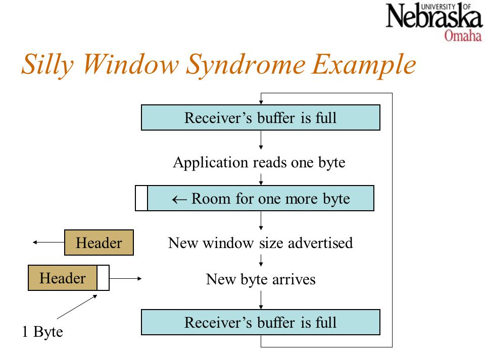 Silly Window Syndrome Example