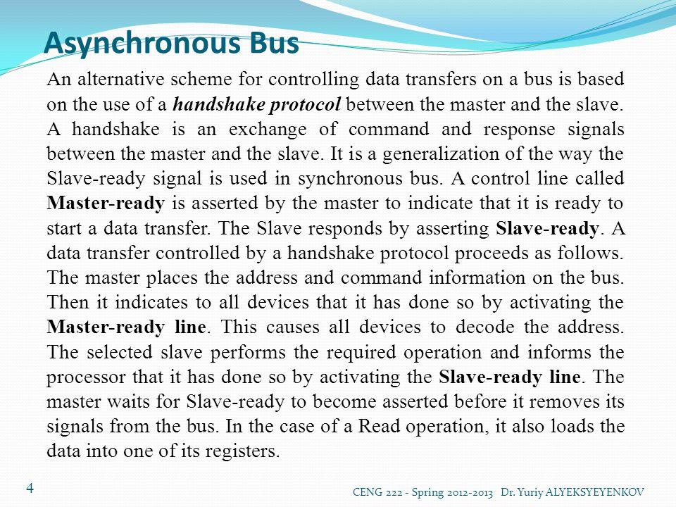 Asynchronous Bus