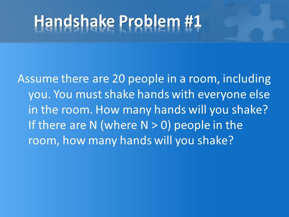 Handshake Problem #1
