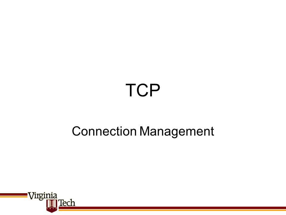 Connection Management
