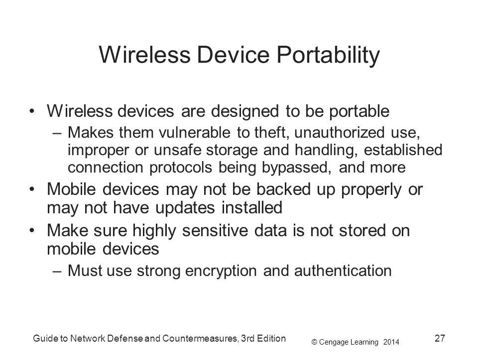Wireless Device Portability