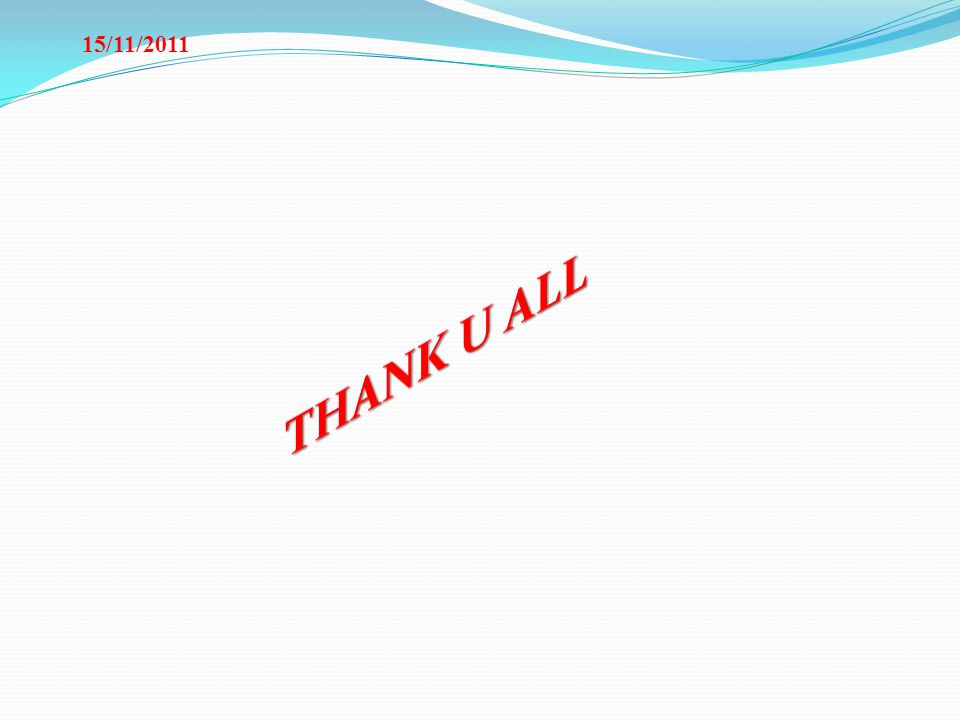 15/11/2011 THANK U ALL