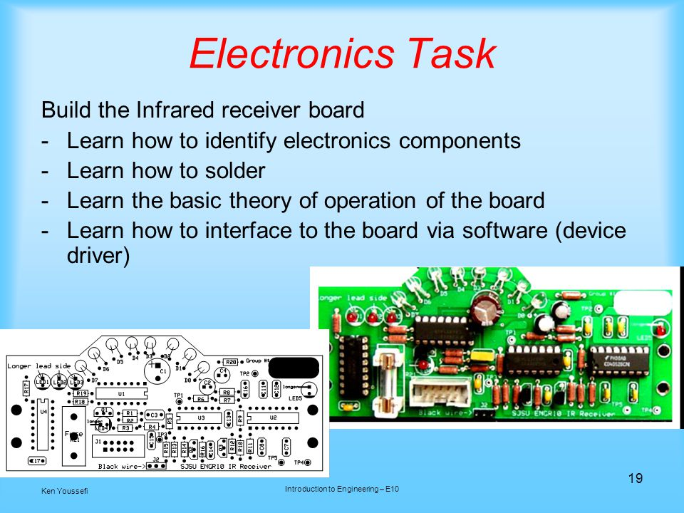 Introduction to Engineering – E10