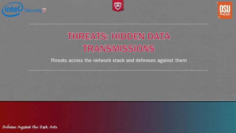 Threats: Hidden Data transmissions