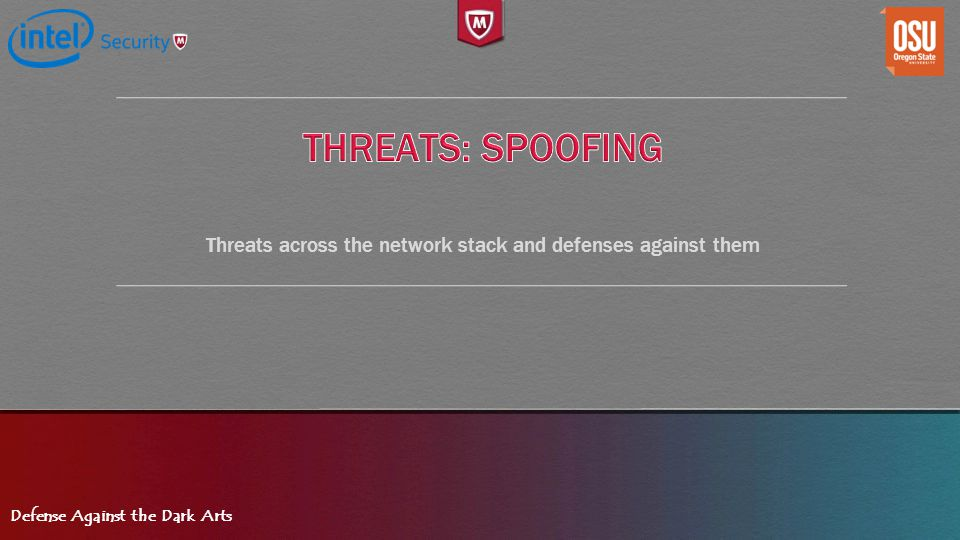 Threats across the network stack and defenses against them
