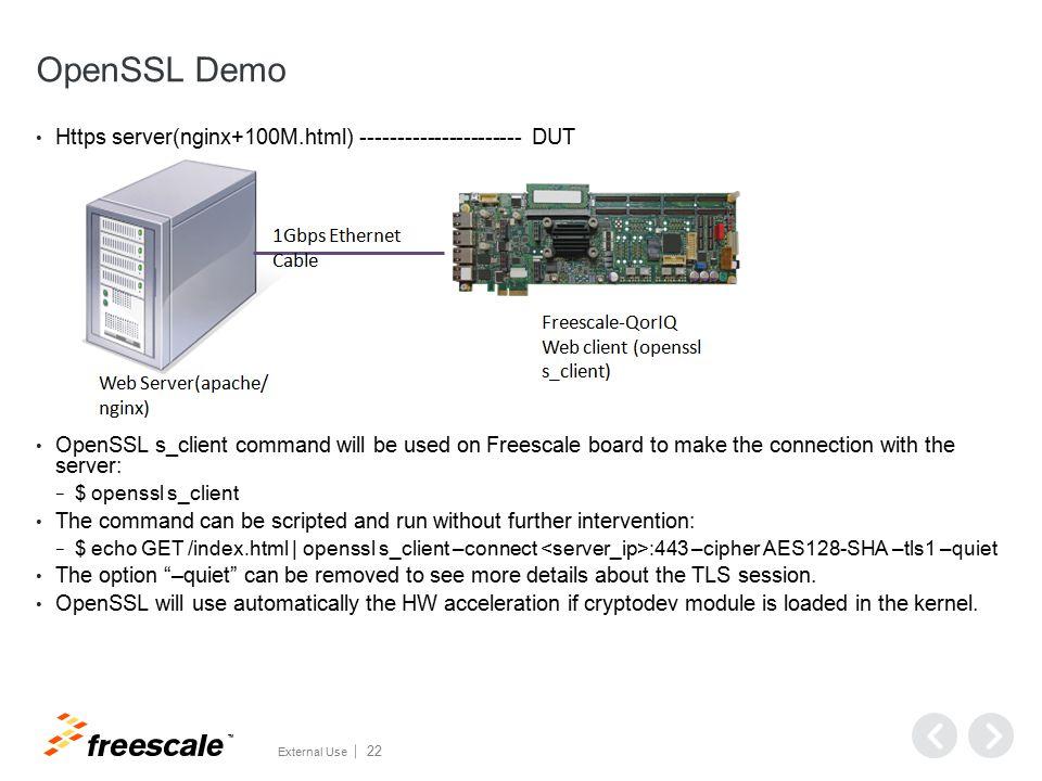 OpenSSL Demo Configuration