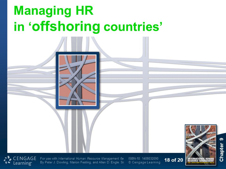Managing HR in 'offshoring countries'