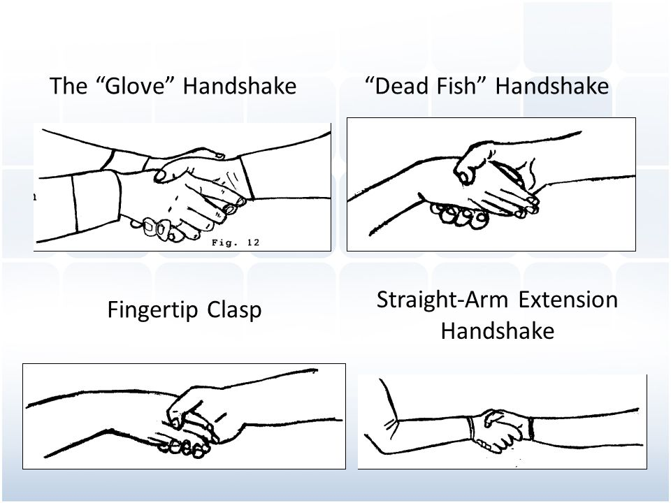 Straight-Arm Extension Handshake