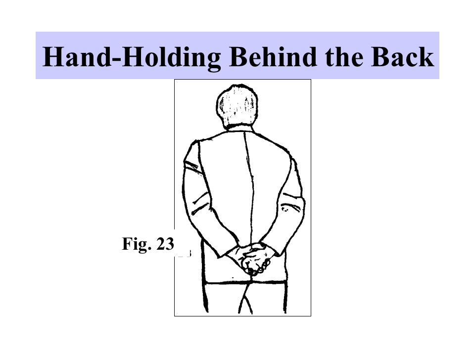 Hand-Holding Behind the Back