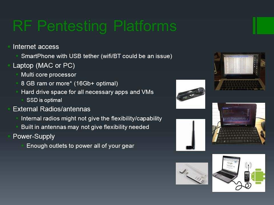 RF Pentesting Platforms