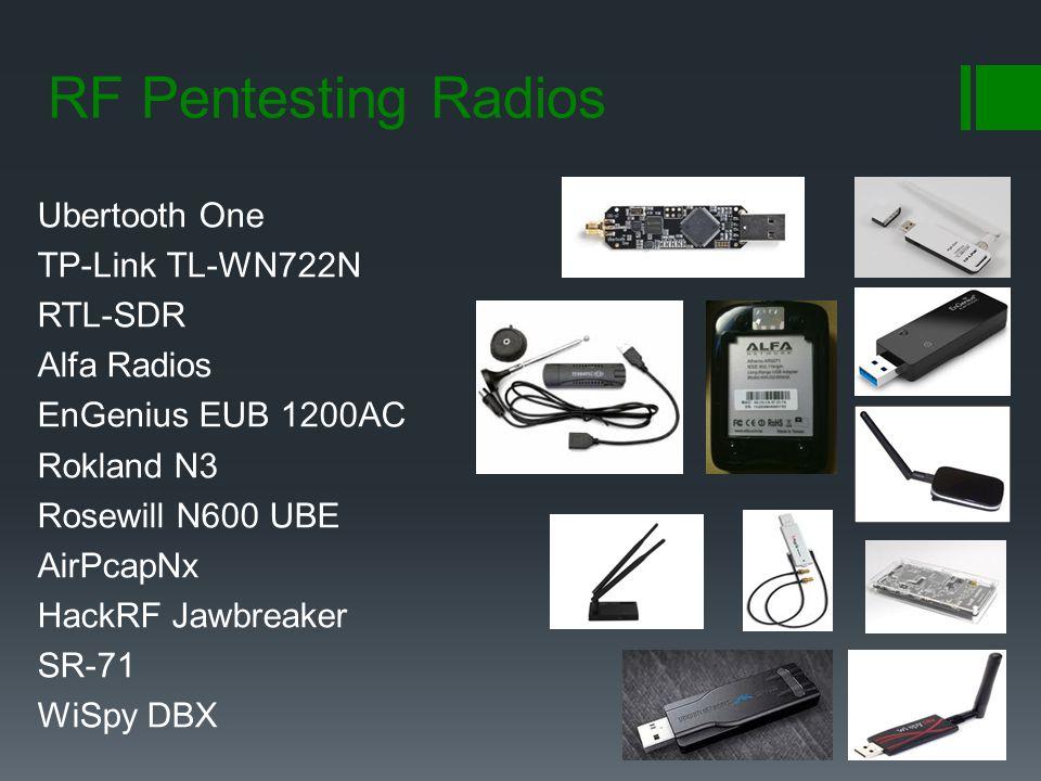 RF Pentesting Radios