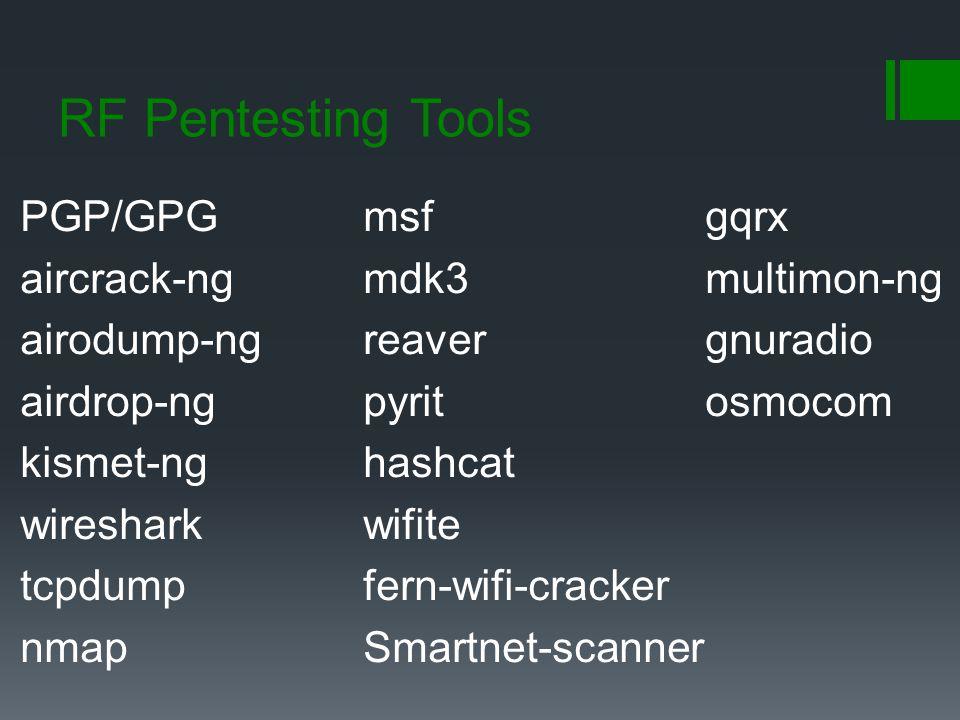 RF Pentesting Tools