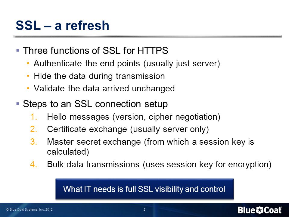 What IT needs is full SSL visibility and control