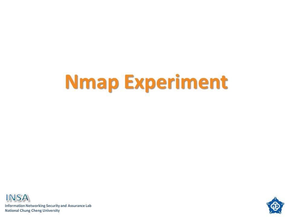 Nmap Experiment