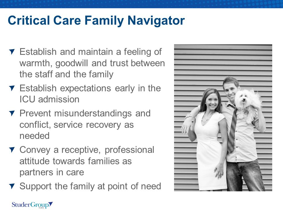 Critical Care Family Navigator