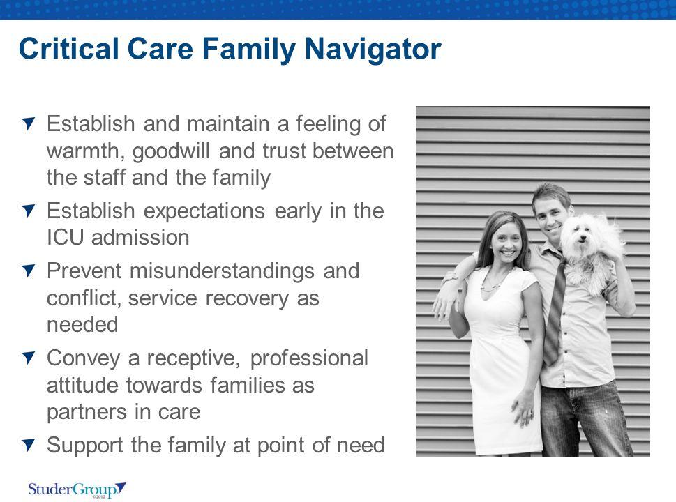 Critical Care Family Navigator