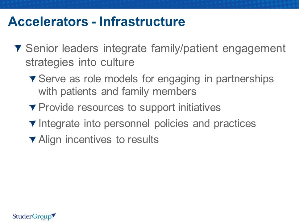 Accelerators - Infrastructure