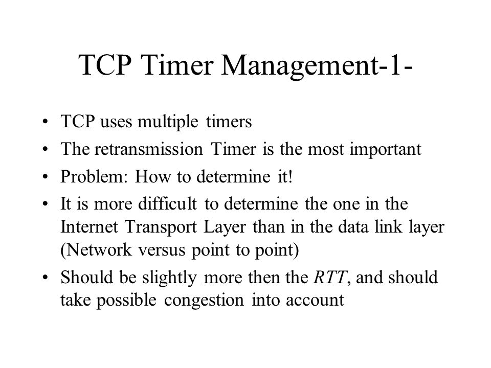 TCP Timer Management-1-