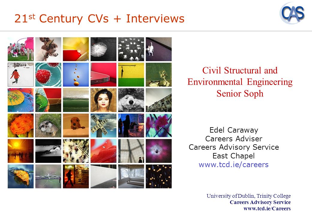 21st Century CVs + Interviews