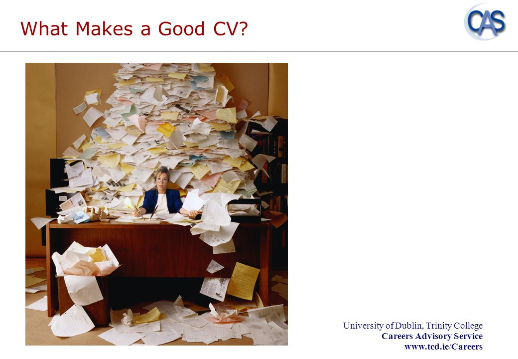 What Makes a Good CV