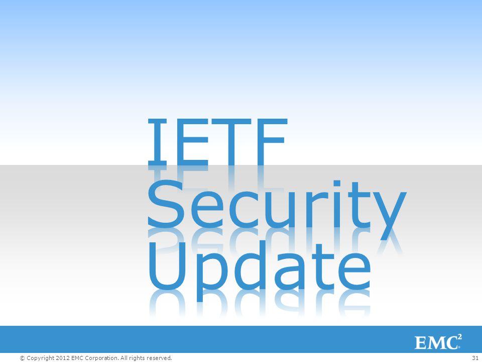 IETF Security Update