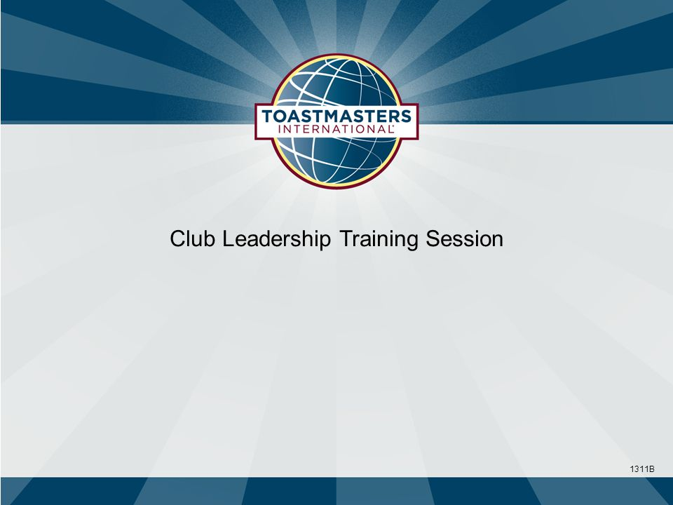Club Leadership Training Session