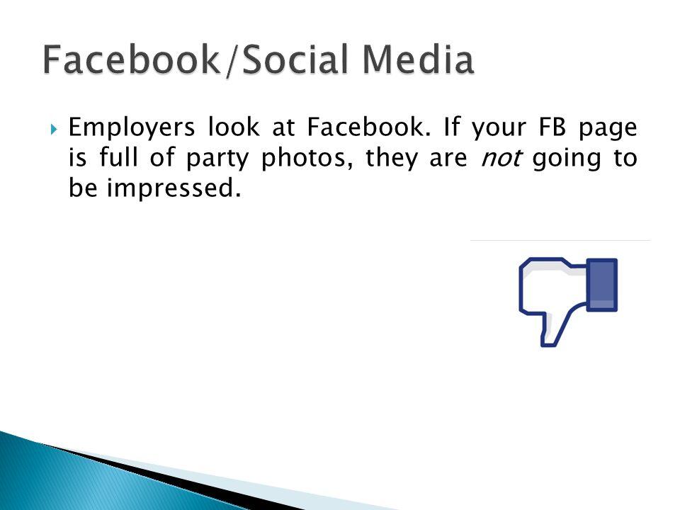 Facebook/Social Media