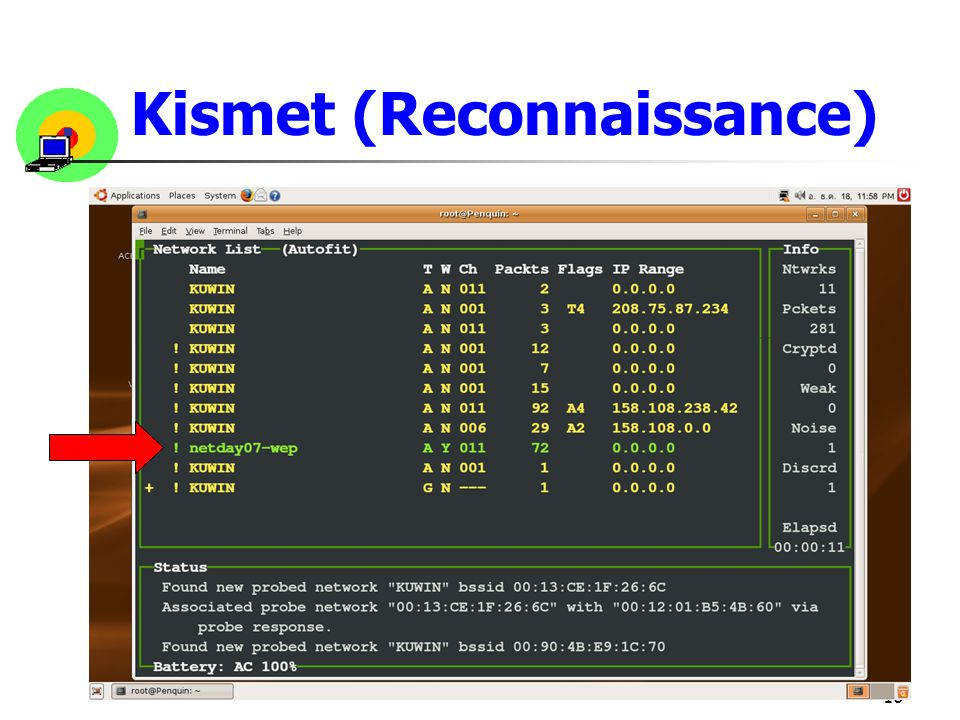 Kismet (Reconnaissance)