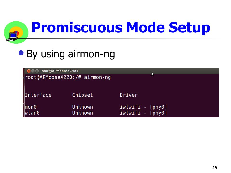 Promiscuous Mode Setup