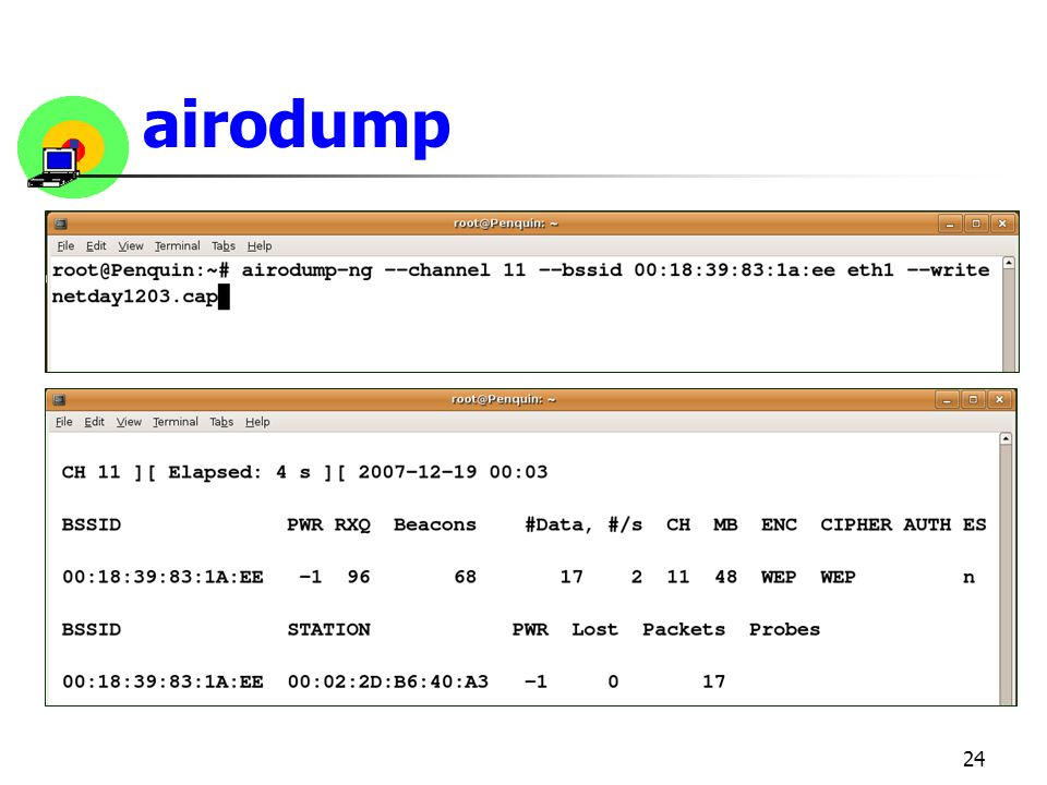 airodump
