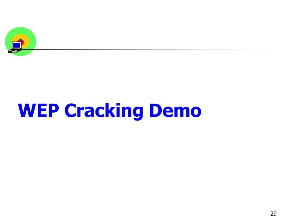 WEP Cracking Demo