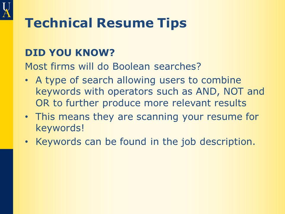 resumes cover letters and searching ppt
