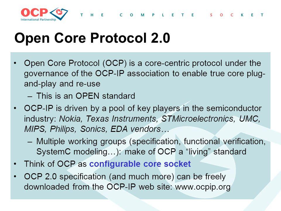 Open Core Protocol 2.0