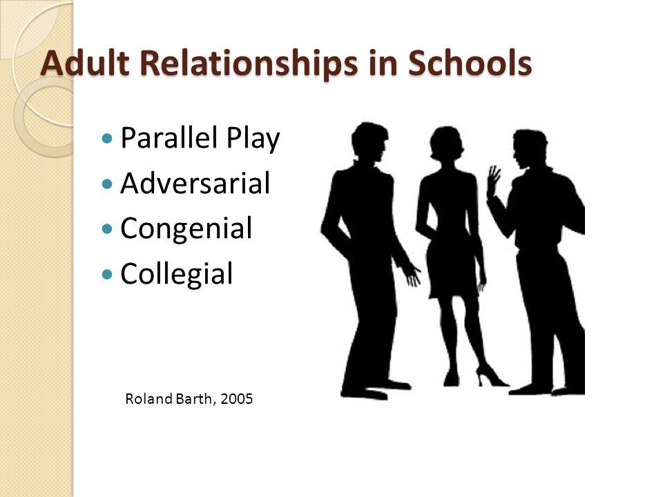 Adult Relationships in Schools