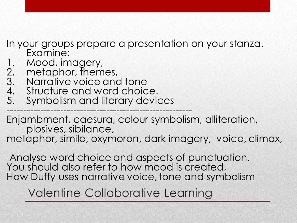 Valentine Collaborative Learning