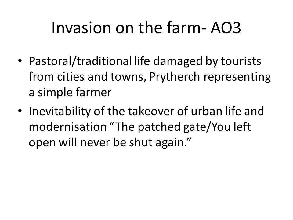 Invasion on the farm- AO3