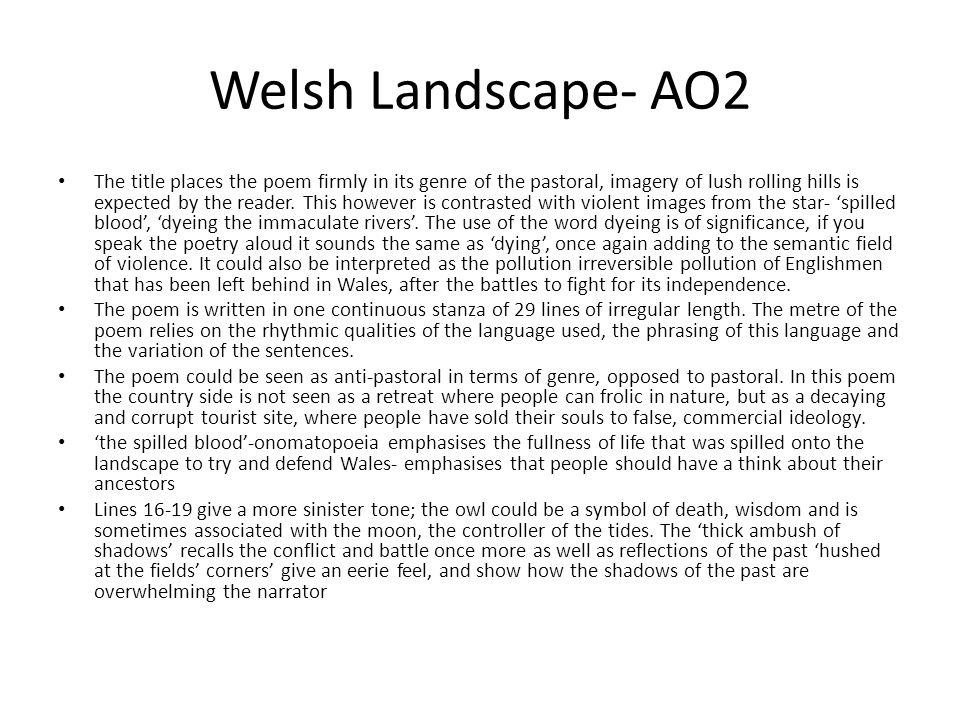 Welsh Landscape- AO2