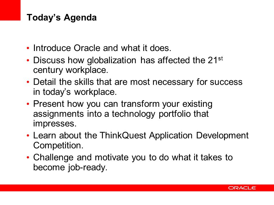 Introduce Oracle and what it does.