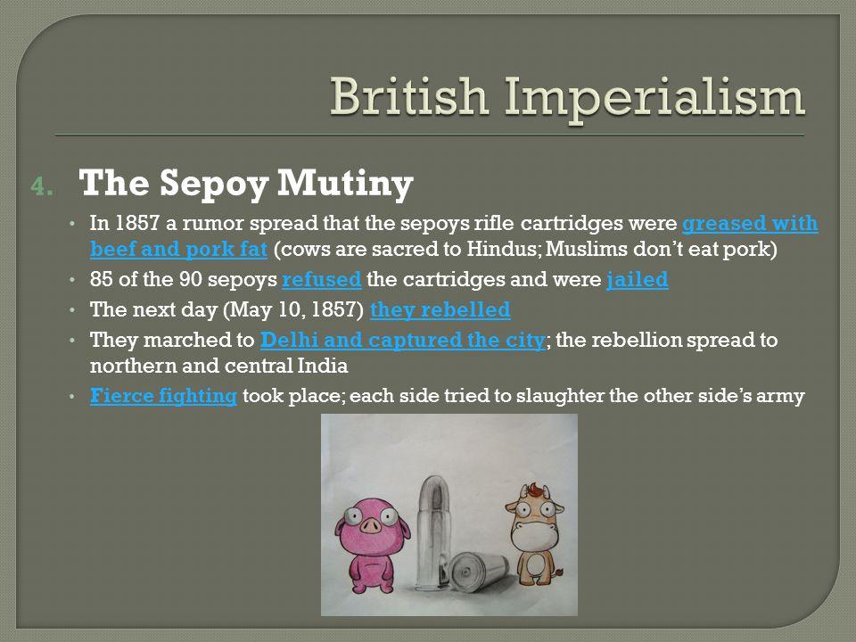 British Imperialism The Sepoy Mutiny